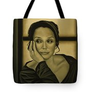 Kristin Scott Thomas Tote Bag by Paul Meijering