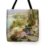 Lake Maggiore Tote Bag by Ebenezer Wake-Cook