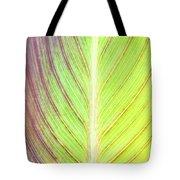 Leaf Detail Tote Bag by Tom Gowanlock