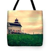 Lighthouse Prince Edward Island Tote Bag by Edward Fielding