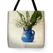 Lilly Of The Valley Tote Bag by Jaroslaw Blaminsky