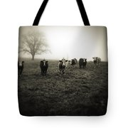 Livestock Tote Bag by Les Cunliffe