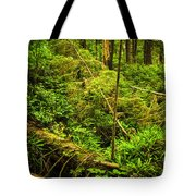 Lush Temperate Rainforest Tote Bag by Elena Elisseeva