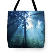 Magical Light Tote Bag by Daniel Csoka