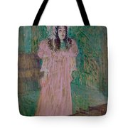 May Belfort Tote Bag by Henri de Toulouse-lautrec