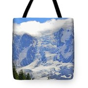 Mount Adams Tote Bag by Roger Reeves  and Terrie Heslop
