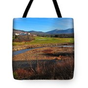 Mount Washington Tote Bag by Catherine Reusch  Daley