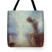 Neapolitan Fisher Girls Surprised Bathing By Moonlight Tote Bag by Joseph Mallord William Turner