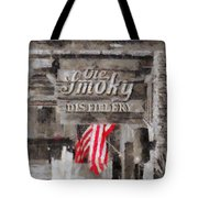 Ole Smoky Distillery Tote Bag by Dan Sproul