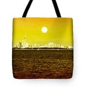 pattaya scenic Tote Bag by ATIKETTA SANGASAENG