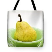 Pear Still Life Tote Bag by Edward Fielding