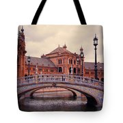 Plaza De Espana. Seville Tote Bag by Jenny Rainbow