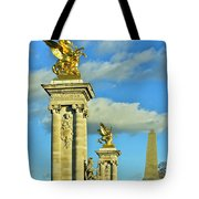 Pont Alexandre IIi Tote Bag by Mountain Dreams