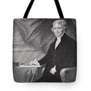 Portrait of Thomas Jefferson Tote Bag by Alonzo Chappel