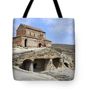 Prince's Church In Uplistsikhe Gori Georgia  Tote Bag by Robert Preston