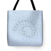 Quantum Nautilus Tote Bag by Jason Padgett