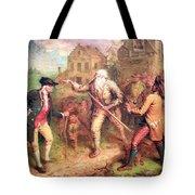 Quidor's The Return Of Rip Van Winkle Tote Bag by Cora Wandel