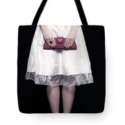 Red Handbag Tote Bag by Joana Kruse
