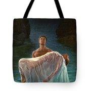 Resurrection Tote Bag by Mia Tavonatti