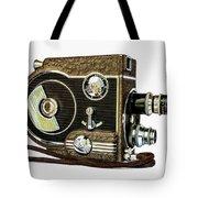 Revere 8 Movie Camera Tote Bag by Jon Woodhams