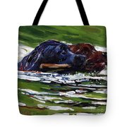 River Run Tote Bag by Molly Poole