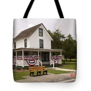 Ryckman House In Melbourne Beach Florida Tote Bag by Allan  Hughes