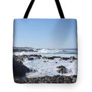 Sea Foam Tote Bag by Barbara Snyder