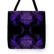 Silence Tote Bag by Christopher Gaston