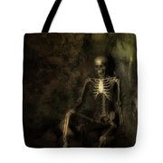 Skeleton Tote Bag by Amanda And Christopher Elwell