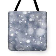 Snowfall  Tote Bag by Elena Elisseeva