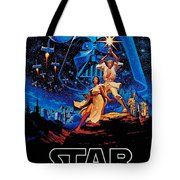 Star Wars Tote Bag by Farhad Tamim