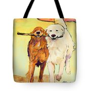 Stick With Me Tote Bag by Pat Saunders-White