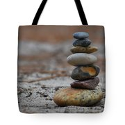 Stone Pyramide Tote Bag by Hannes Cmarits