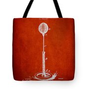 Striking Bag Patent Drawing From1894 Tote Bag by Aged Pixel