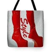 Style Tote Bag by Cheryl Young