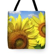 Sunflowers Tote Bag by Elena Elisseeva