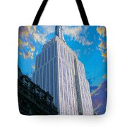 The Empire State Building Tote Bag by Jon Neidert