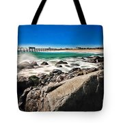 The Jersey Shore Tote Bag by Paul Ward