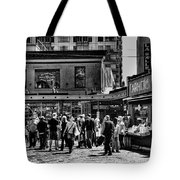 The Market At Pike Place Tote Bag by David Patterson
