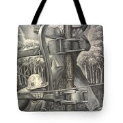 The Roughneck Tote Bag by Shawn Marlow
