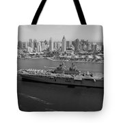 USS Boxer in San Diego  Tote Bag by Mountain Dreams