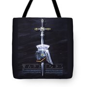 Warriors Tote Bag by Cliff Hawley