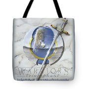 Warriors Triumphant Tote Bag by Cliff Hawley
