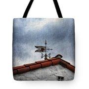 Weathered Weathervane Tote Bag by Carol Leigh