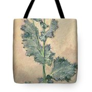 White Poppy Tote Bag by Claude Monet