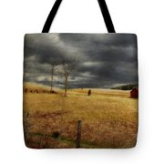 Winter Begins Tote Bag by Lois Bryan