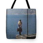 Woman On Jetty Tote Bag by Joana Kruse