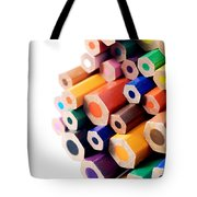Crayons Tote Bag by Chevy Fleet