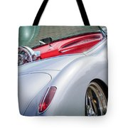 1960 Chevrolet Corvette Tote Bag by Jill Reger