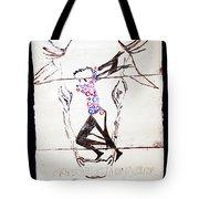 Dinka Dance - South Sudan Tote Bag by Gloria Ssali